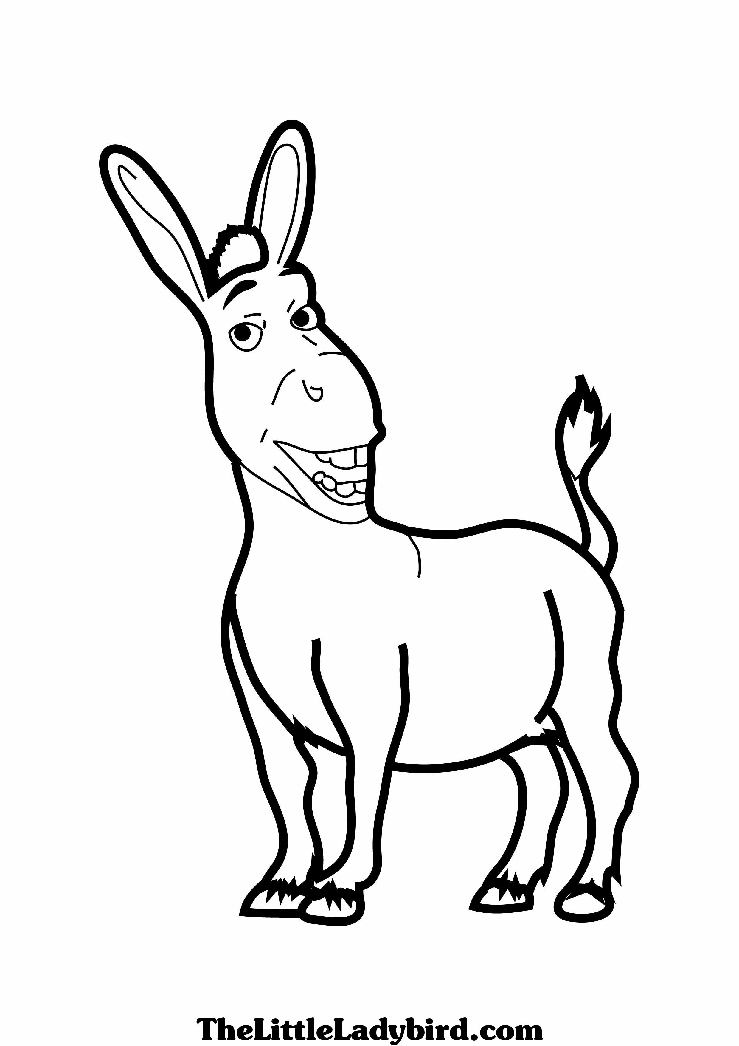 6 Images of Printable Pin The Tail On Donkey Shrek
