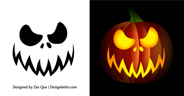 Best images of easy printable pumpkin carving patterns