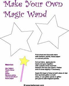 6 Images of Magic Wand Printable Template