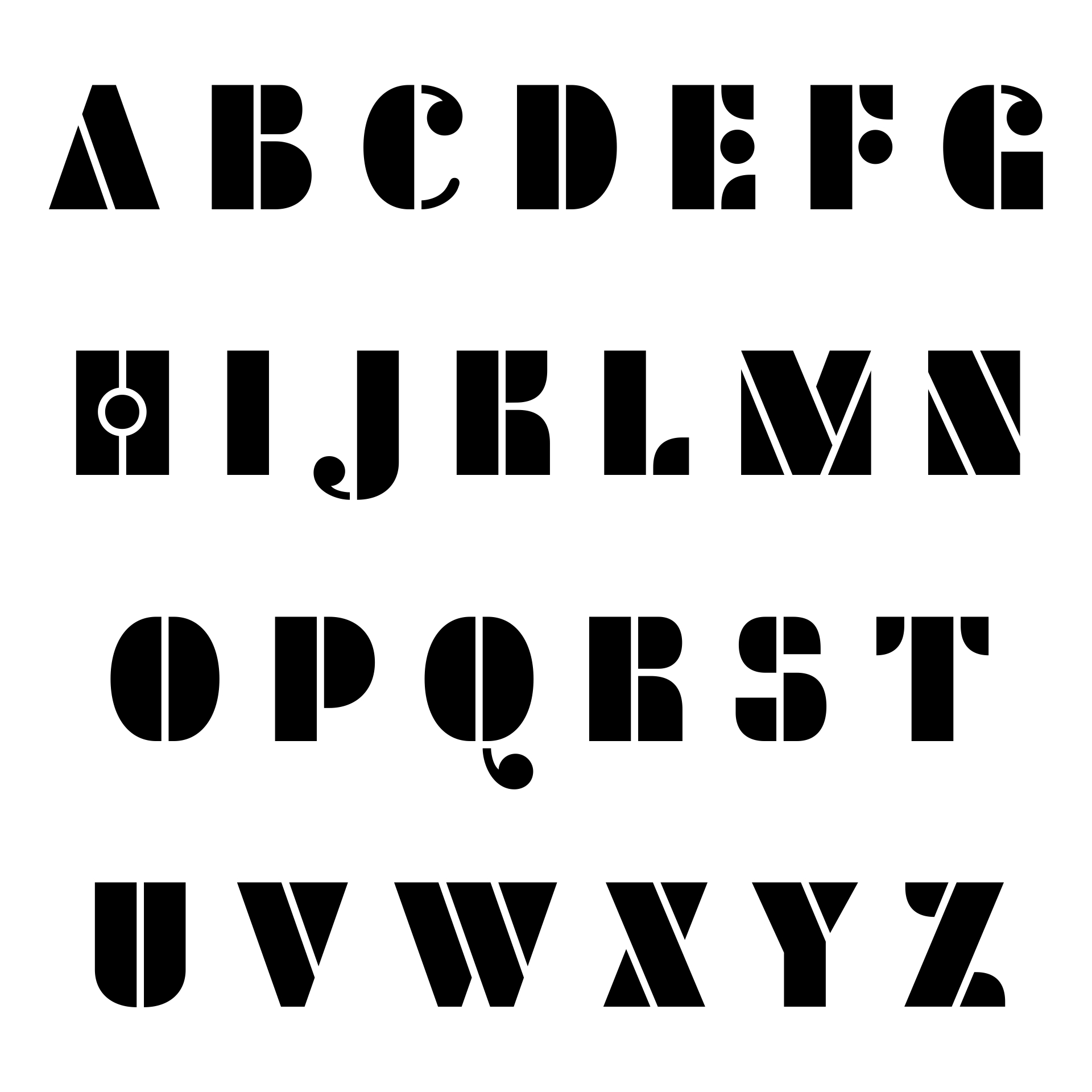9 best images of free printable fancy alphabet letters