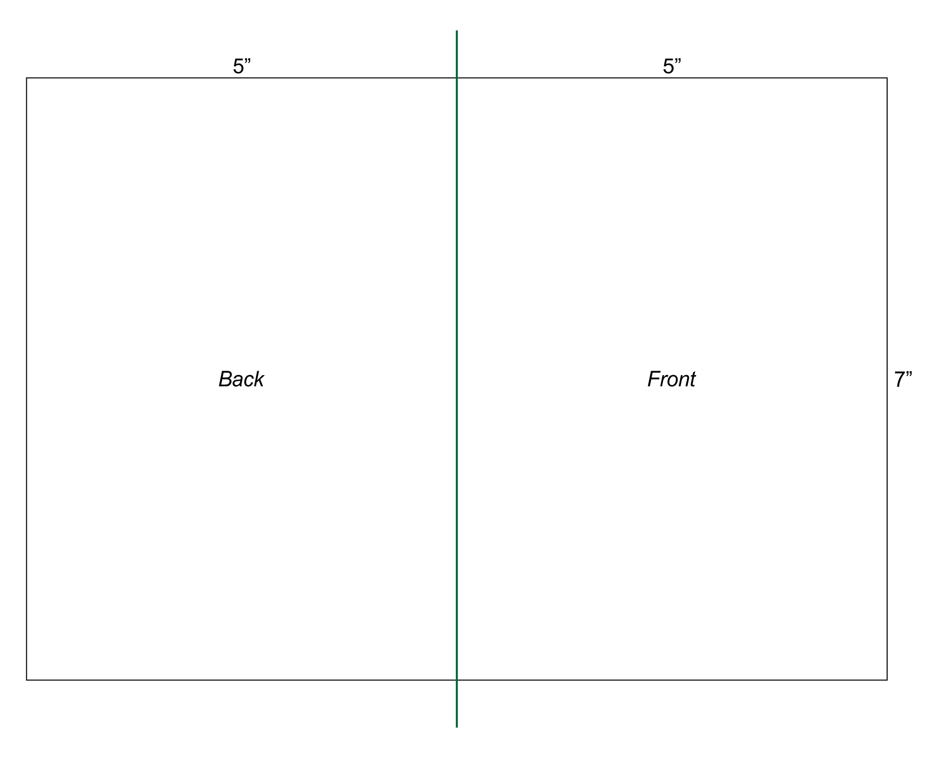 ... Word and Free 5X7 Blank Greeting Card Templates / printablee.com