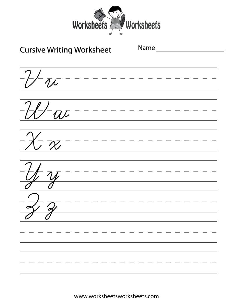 6 best images of printable writing sheets free printable handwriting practice worksheet for. Black Bedroom Furniture Sets. Home Design Ideas