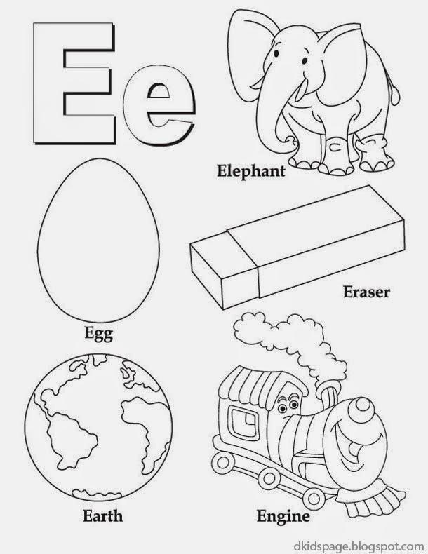 free printable letter e worksheets laveyla – Letter E Worksheets
