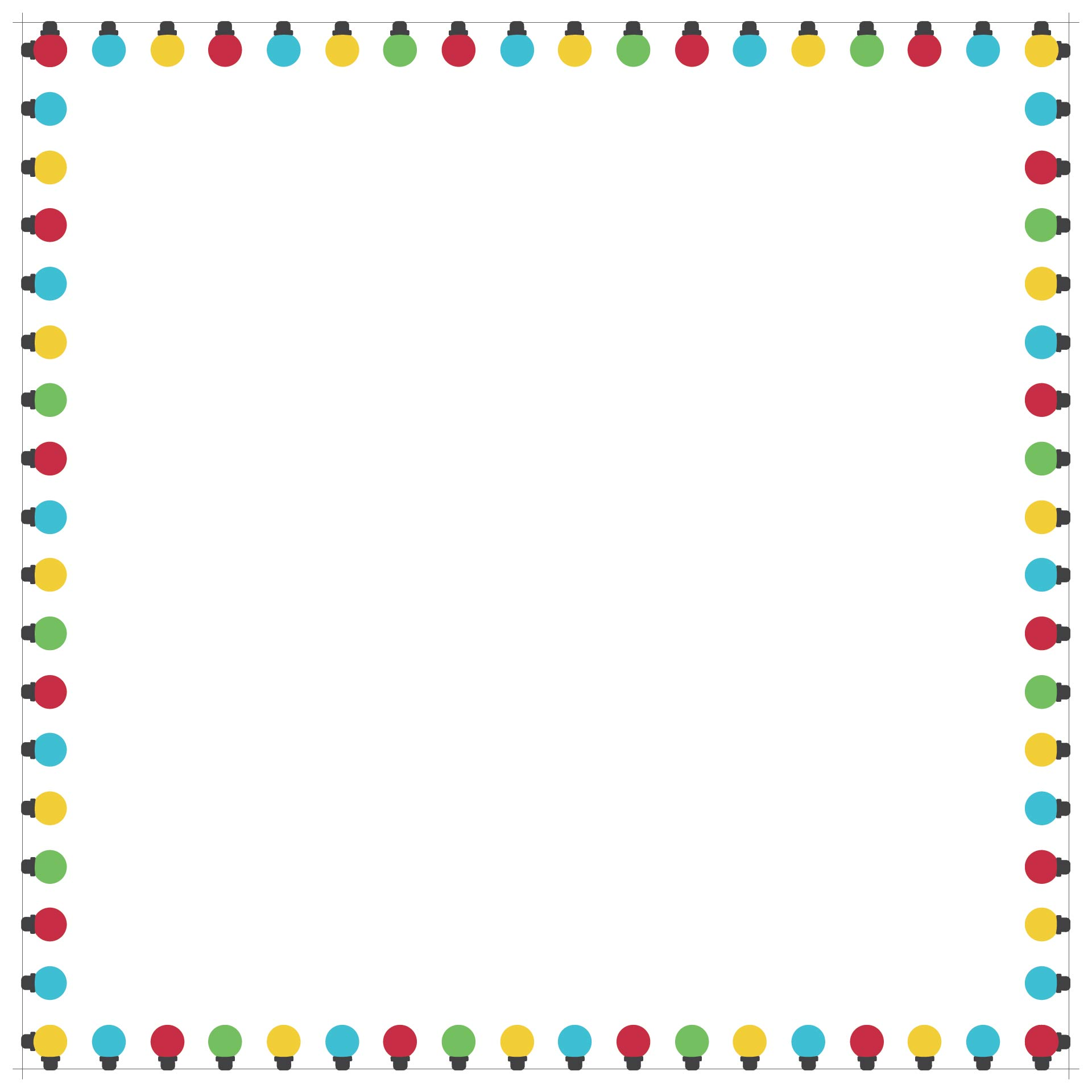 7 Images of Christmas Bulletin Board Borders Printable