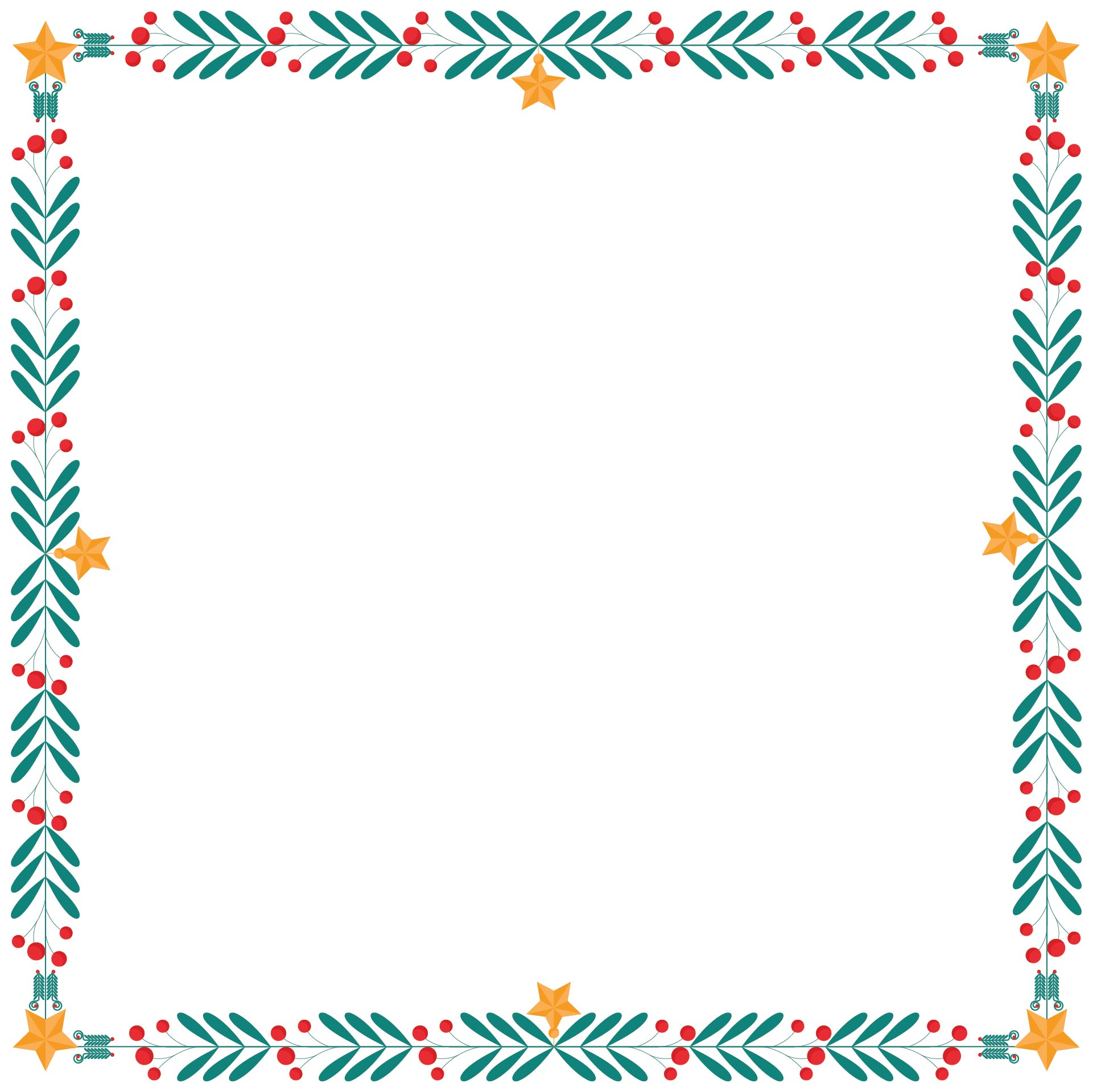 Printable Christmas Bulletin Board Borders