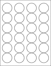 7 Images of Circle Label Printable Template