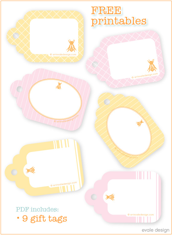 5 Images of Free Printable Baking Tags