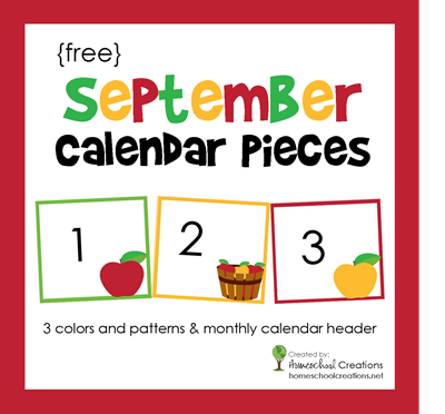 5 Images of Free Printable Calendar Numbers