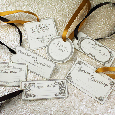 4 Images of Vintage Tag Templates Printable
