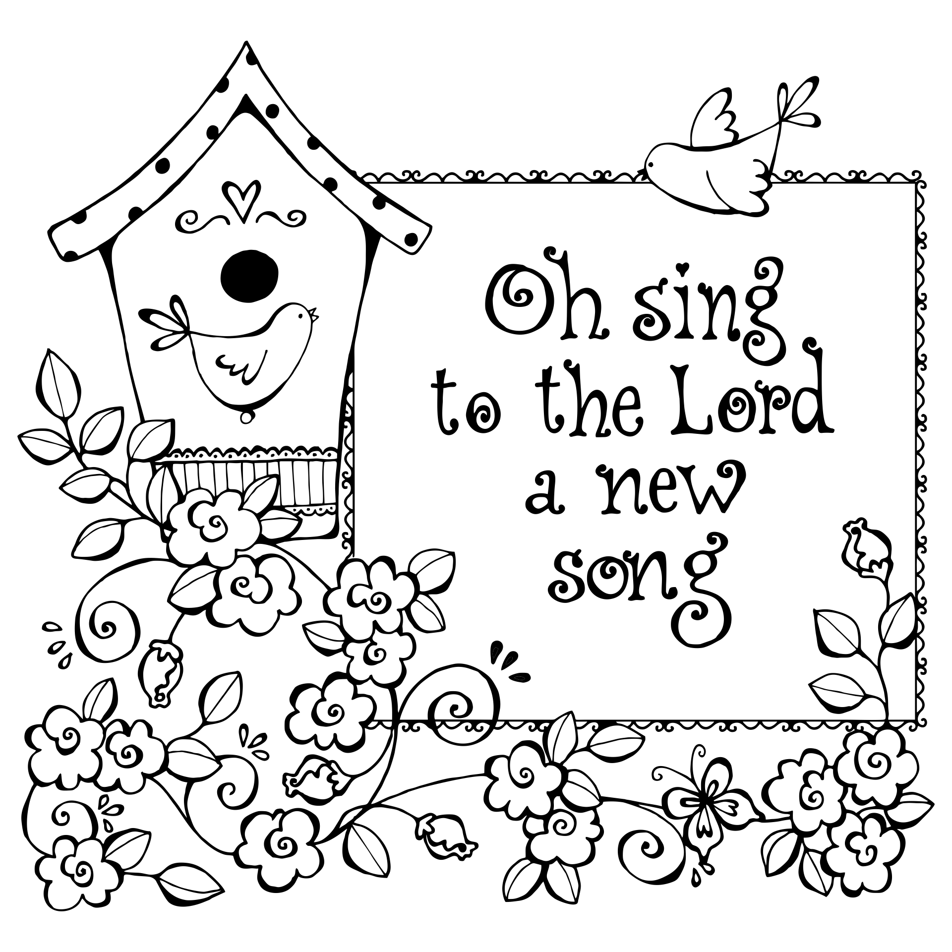 christian stuff coloring pages - photo#23