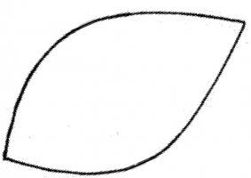 5 Images of Flower Large Leaf Pattern Printable