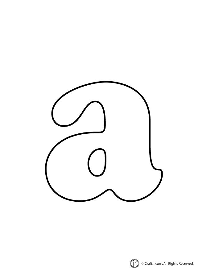 6 Images of Printable Bubble Letters Lowercase