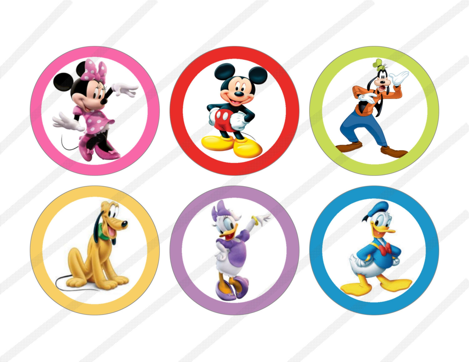 7 Images of Mickey Mouse Clubhouse Free Printables