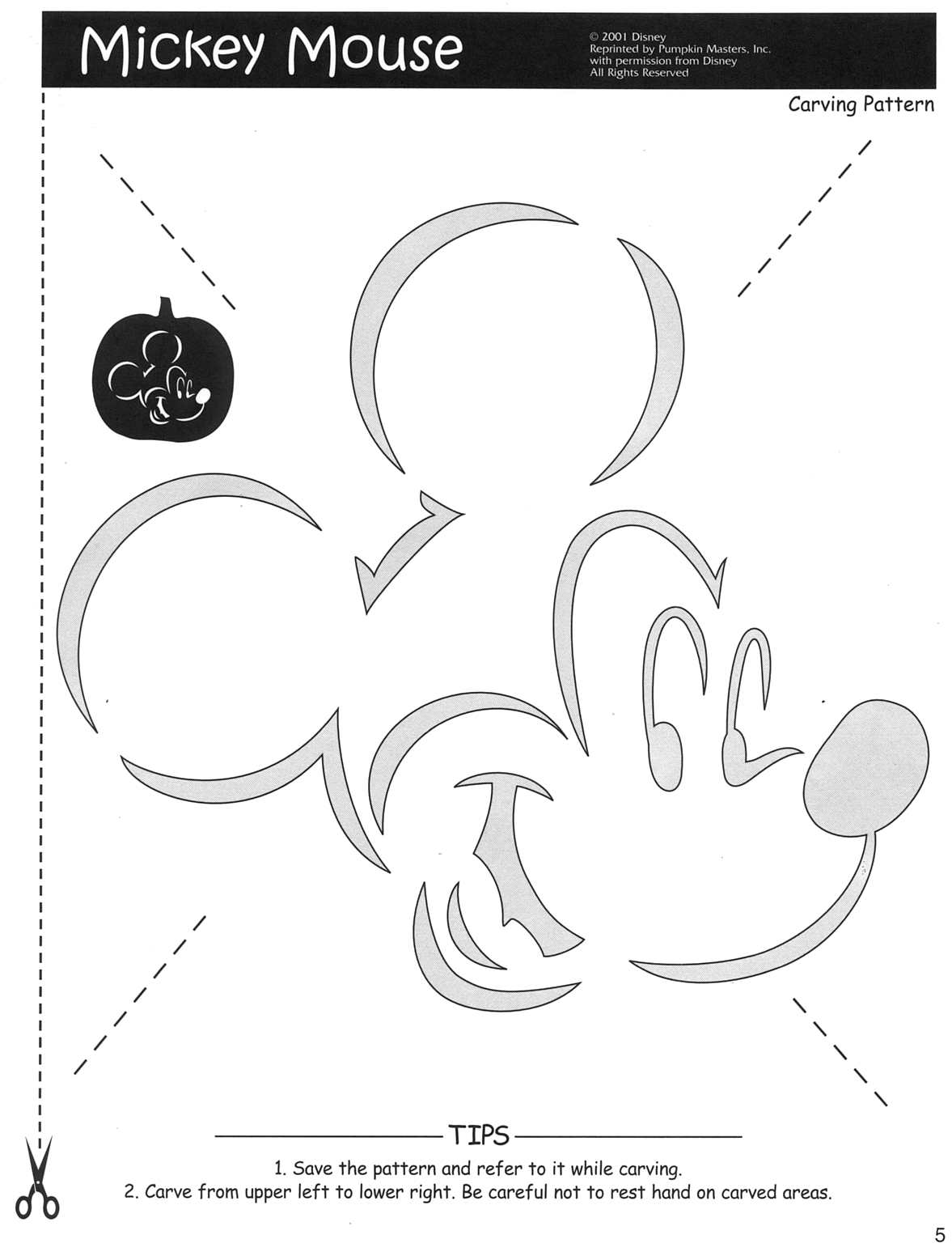 Best images of mickey mouse stencil printable