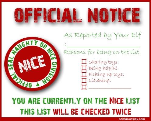 5 Images of Free Elf Printables
