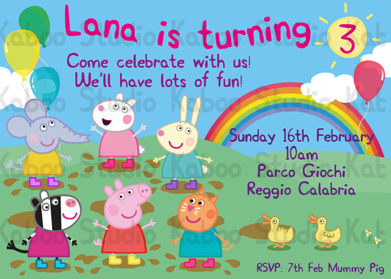 7 Images of Peppa Pig And Friends Party Printables Free
