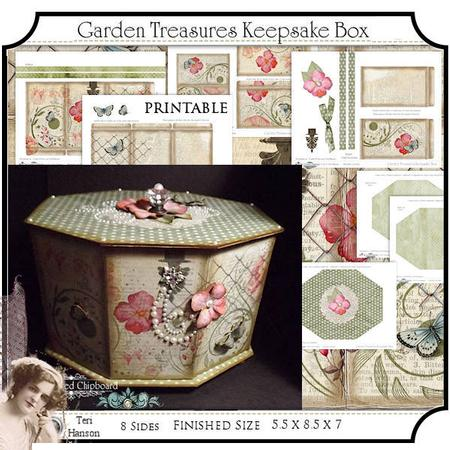 6 Images of Garden Box Printable