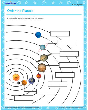Position In Space Worksheets For