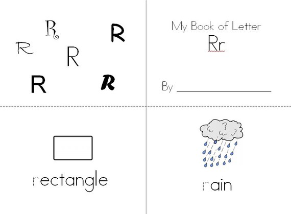 7 Images of Printable ABC Books For Kindergarten