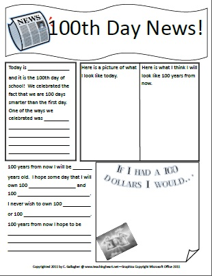 5 best images of 100 day free printable template 100 for 100th day of school crown template