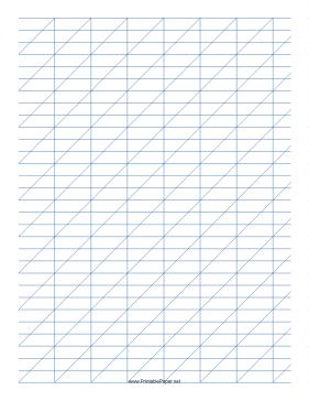 calligraphy chart