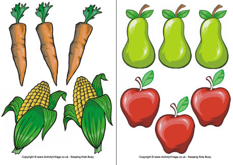 5 Images of Printable Fruit Clip Art