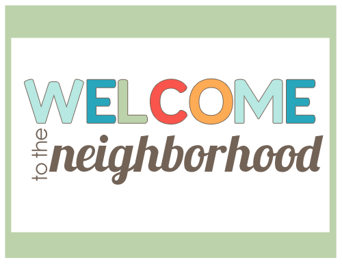 8 Images of Welcome New Neighbor Printables