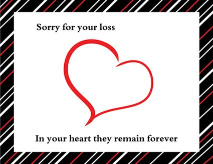 5 Images of Printable Bereavement Cards