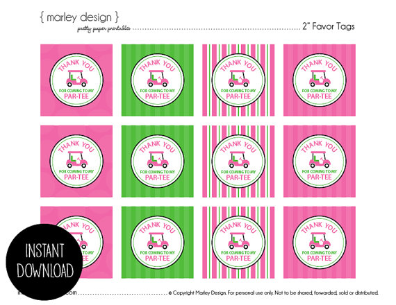 7 Images of Party Favor Thank You Printables