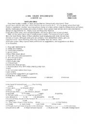 Worksheets 10th Grade Printable Worksheets 6 best images of 10th grade printable worksheets math english worksheets