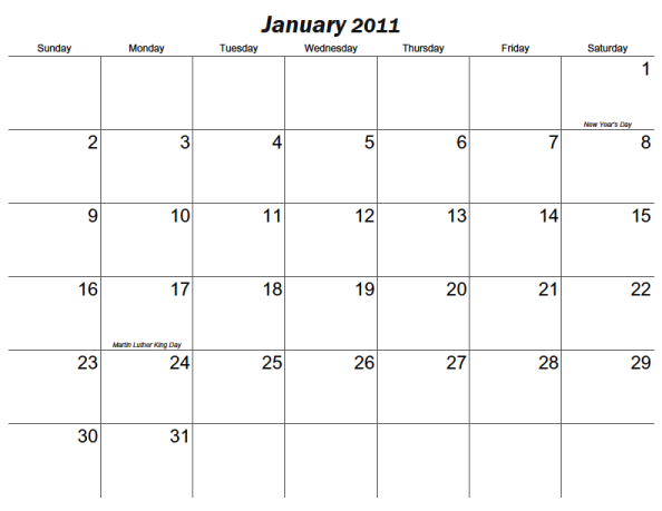 6 Images of Large Printable Calendar Numbers