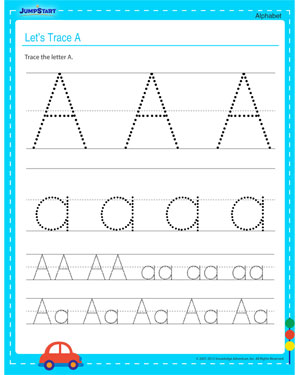 Common Worksheets » Alphabet Tracing Printouts - Preschool and ...