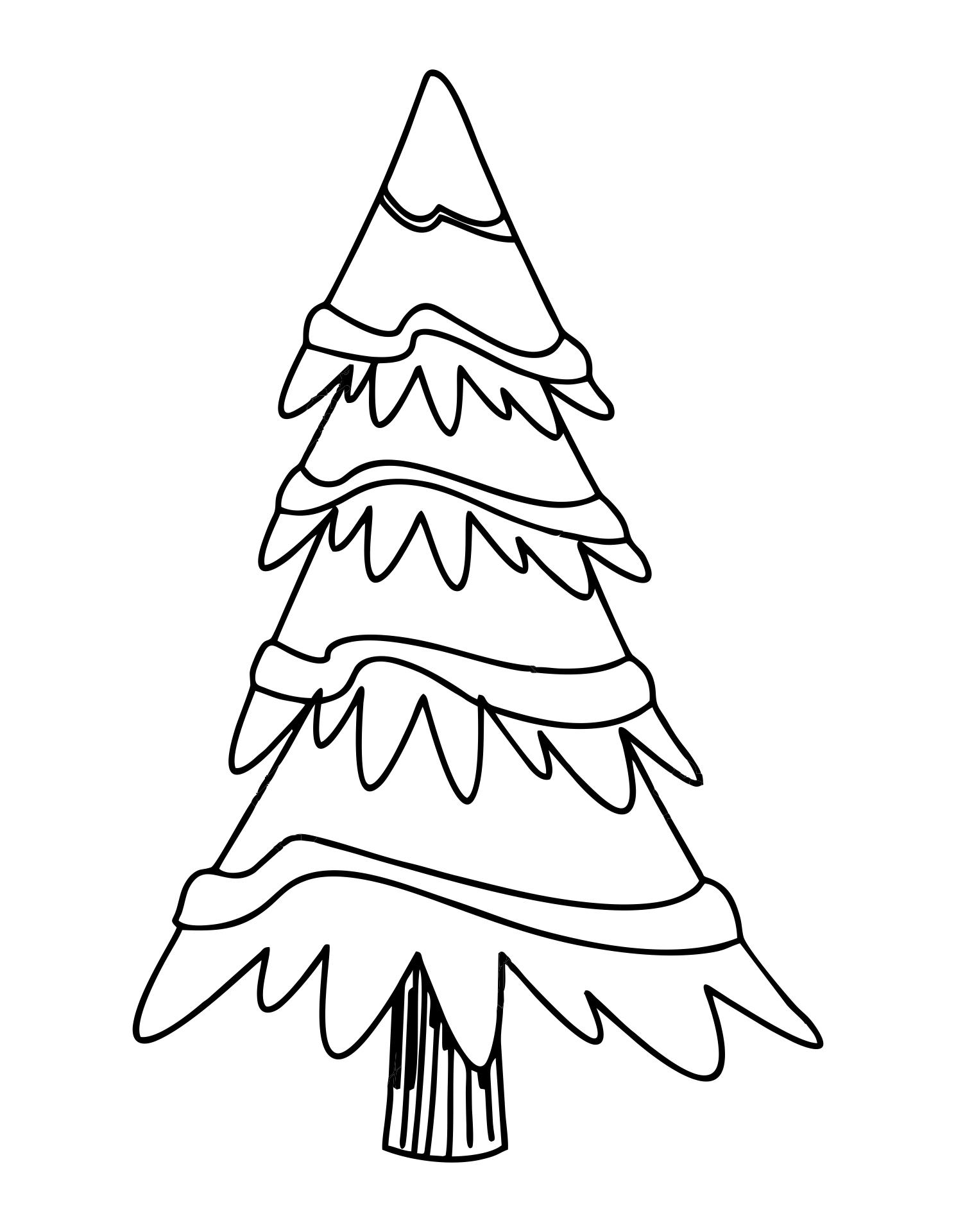 5 Best Images of Printable Blank Christmas Tree ...