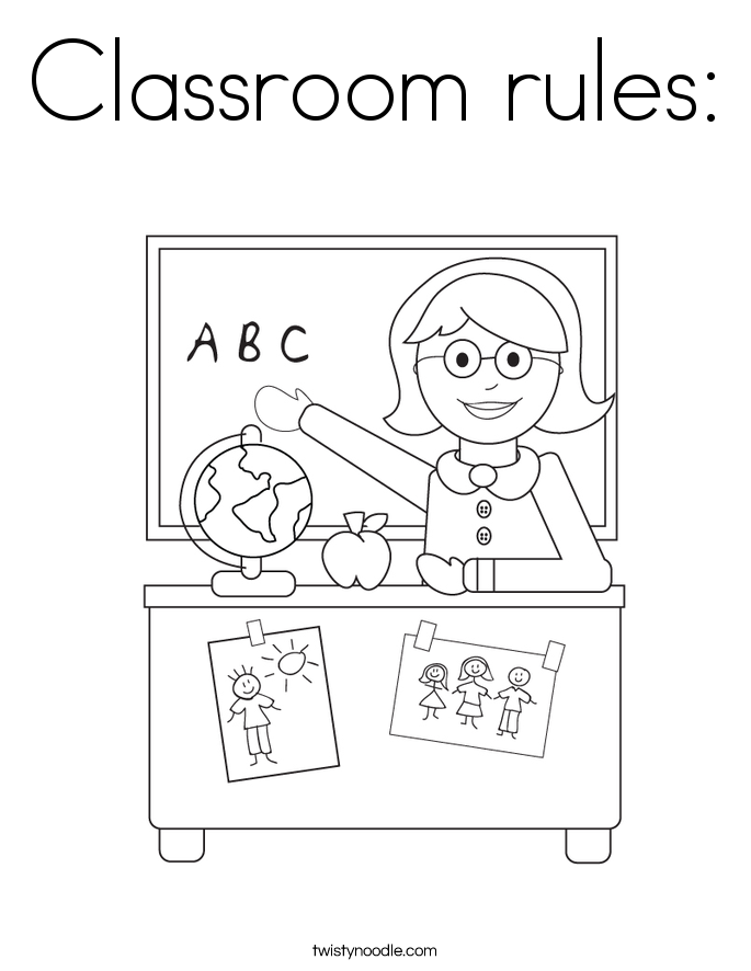 Classroom Rules For Kindergarten Printables | David Simchi ...