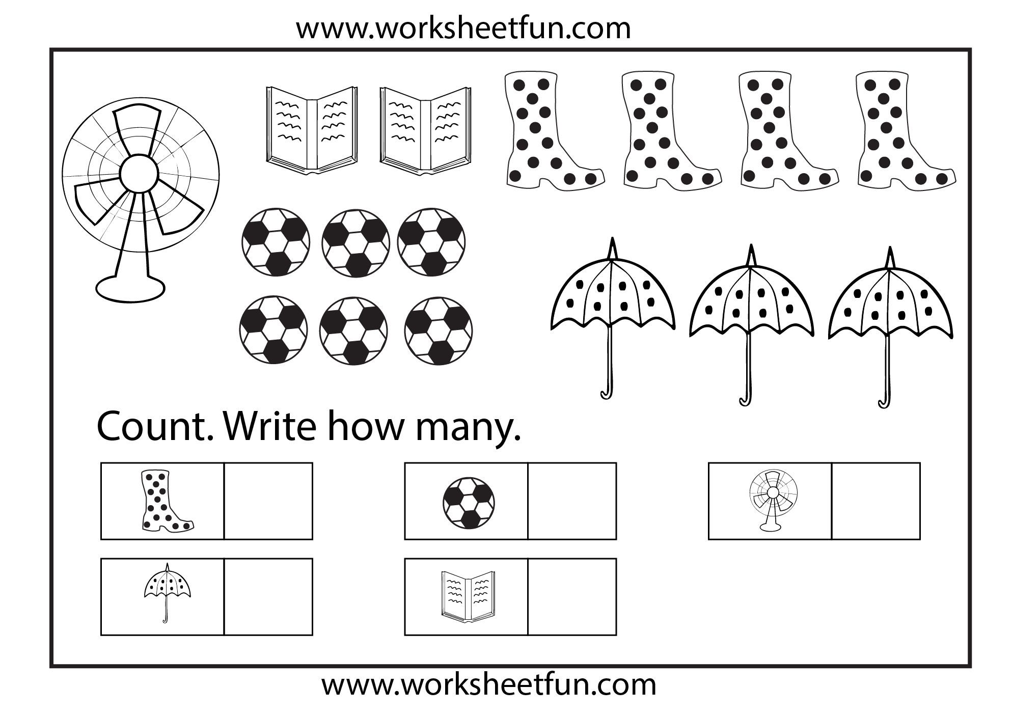 math worksheet : counting worksheet  khayav : Kindergarten Counting Worksheets