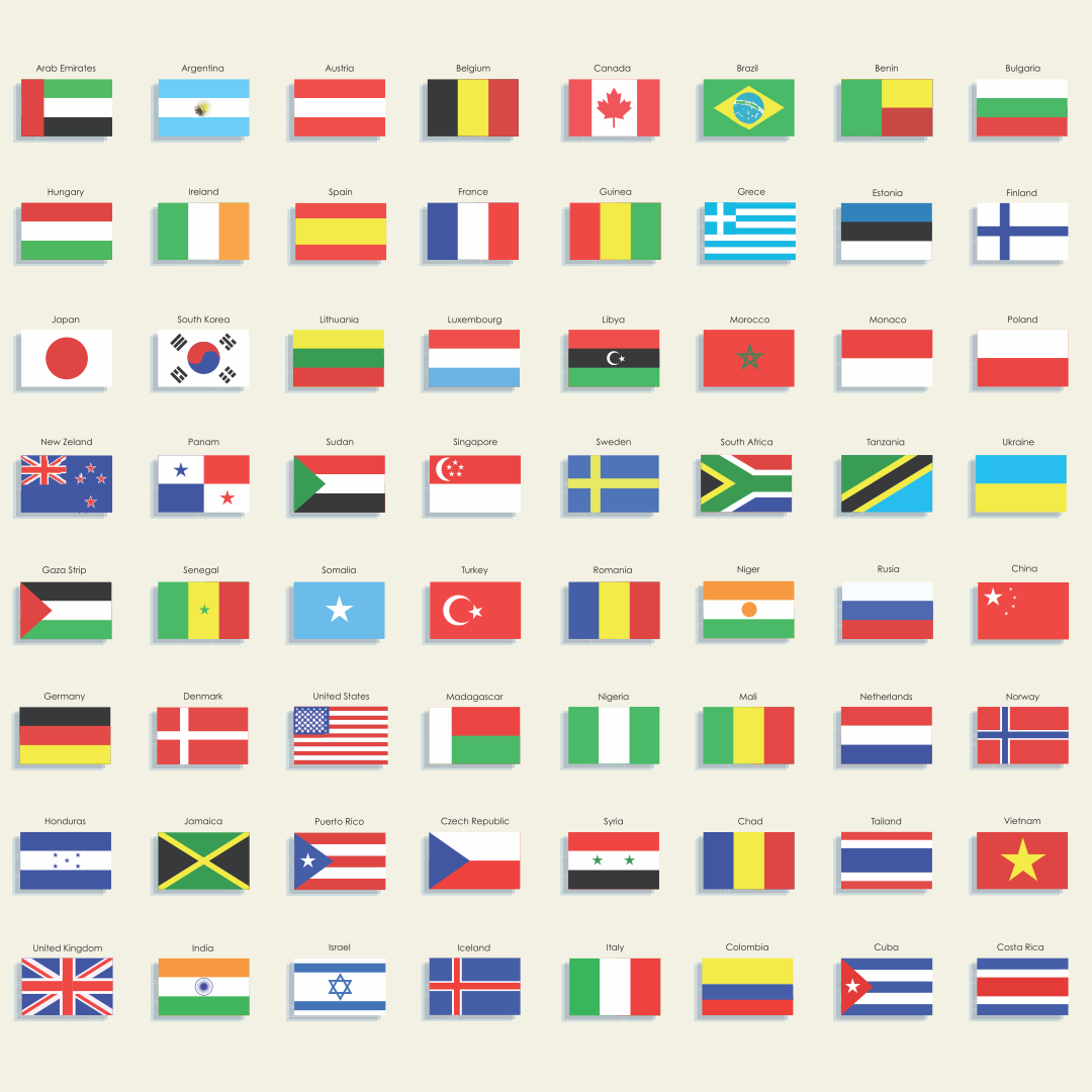 Country Flag Names