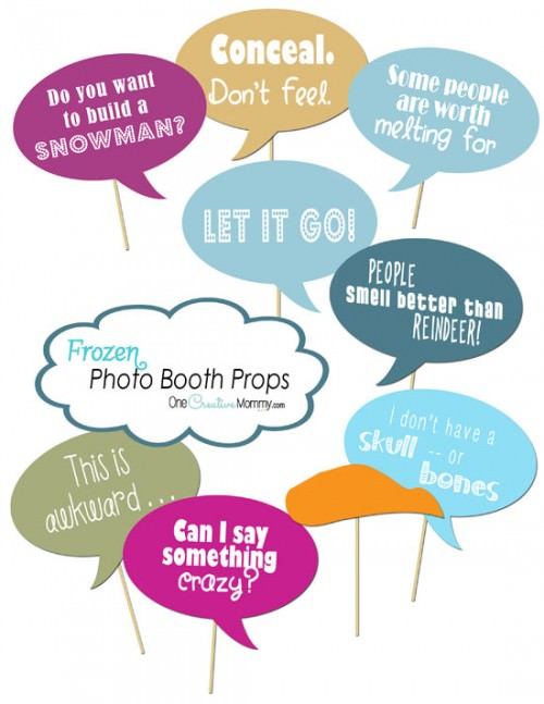 9 Images of Photo Booth Props Free Printables Teacher