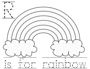 7 Best Images of Rainbow Dot Marker Printables - Rainbow ...