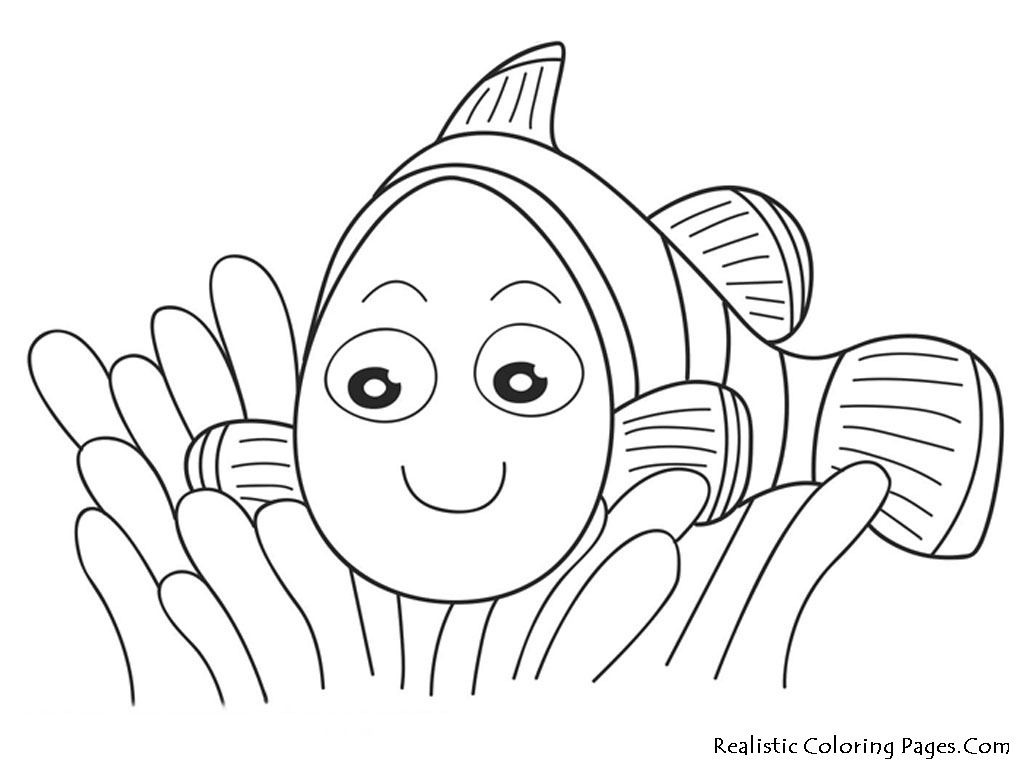 6 Images of Nemo Coloring Pages Printable