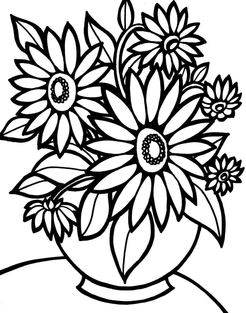Free coloring pages preschool flower - Flower Coloring Pages Preschool Flower Coloring Printable Sheets Special