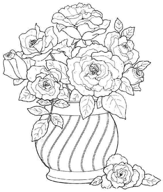 Secret garden coloring book website - See Flower Bouquet Coloring Pages For Kids Flower Bouquet Coloring