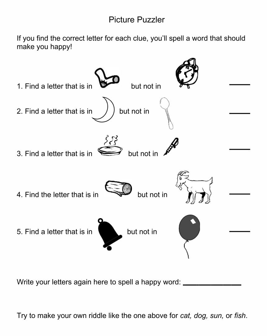 Brain Teaser Worksheets