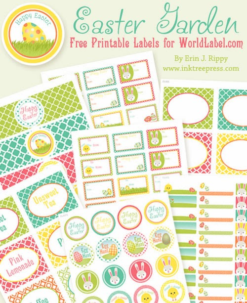 6 Images of Purple And Green Label Free Printables