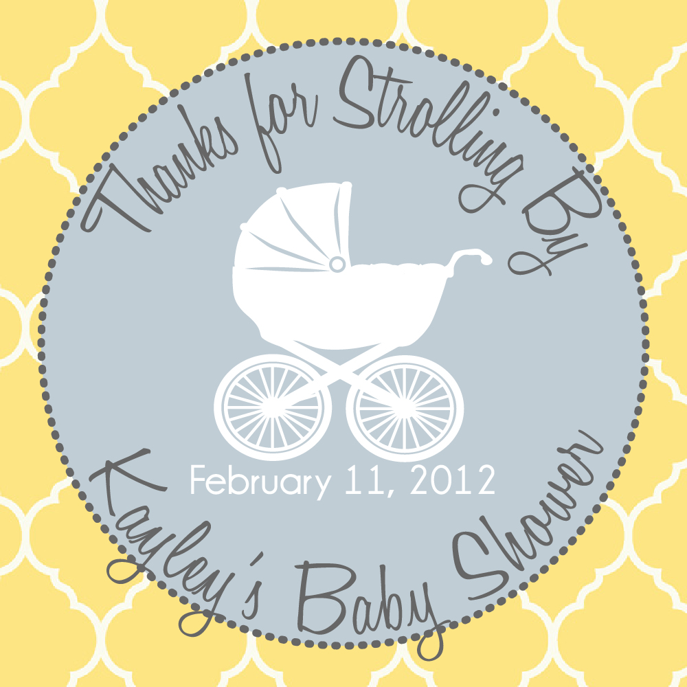 baby shower label template for favors 6 best images of printable baby shower favor labels free
