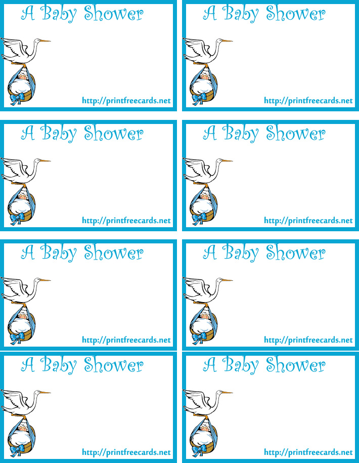 5 Images of Shower Free Printable Gift Tags