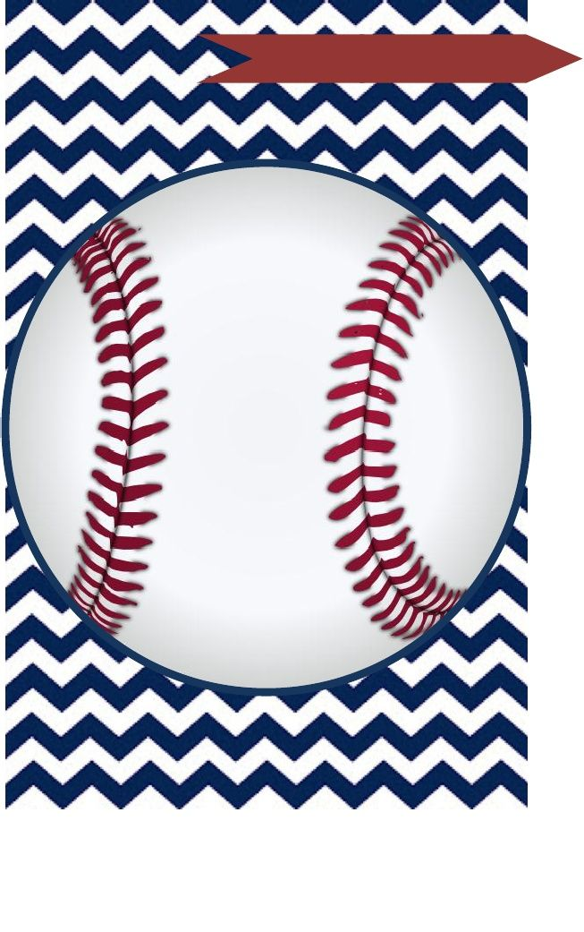 7 Images of Baseball Baby Shower Free Printables