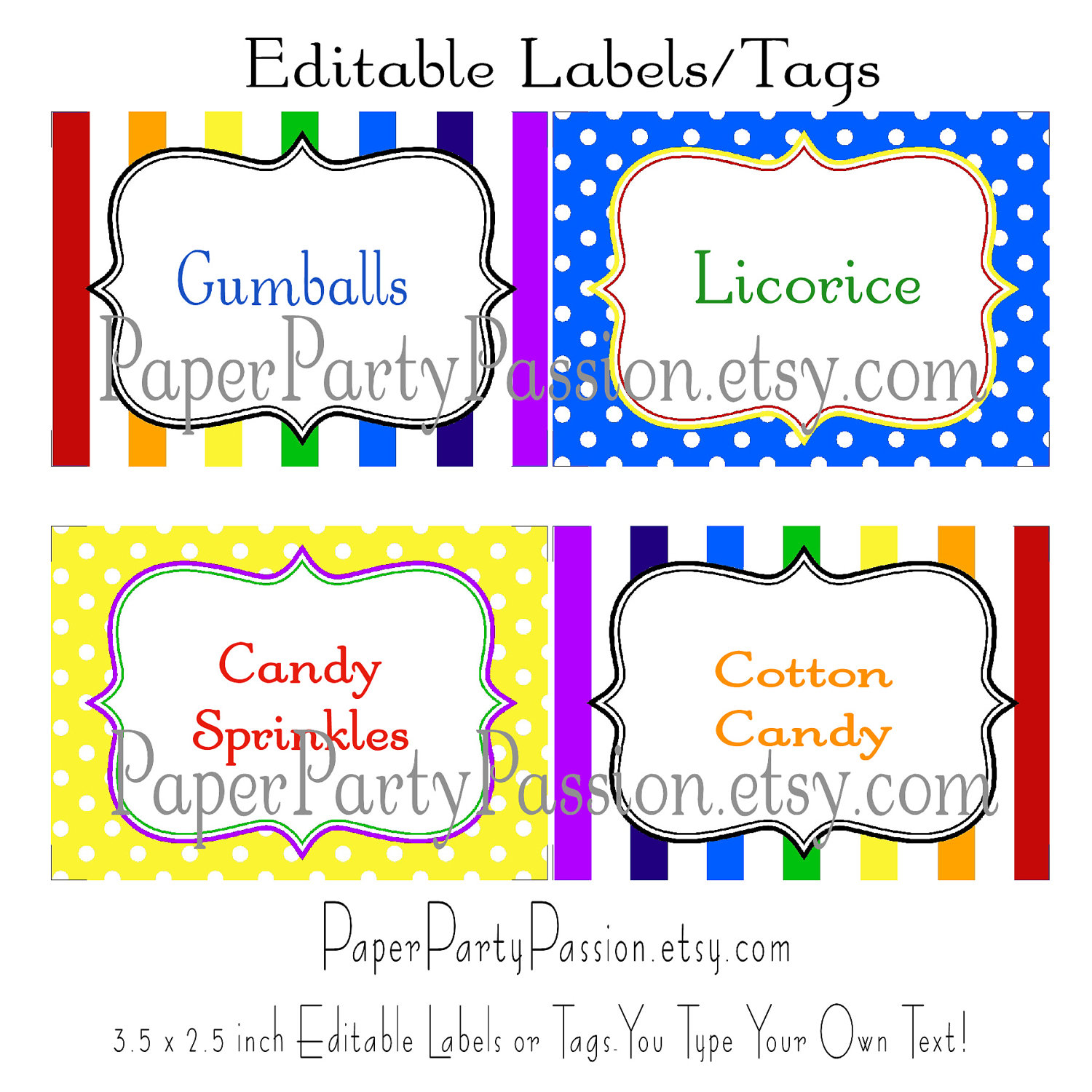 7 Best Images Of Printable Candy Gram Tags