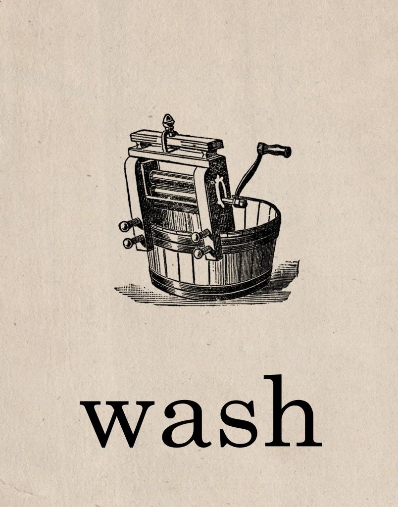 Free Printable Laundry Room Art