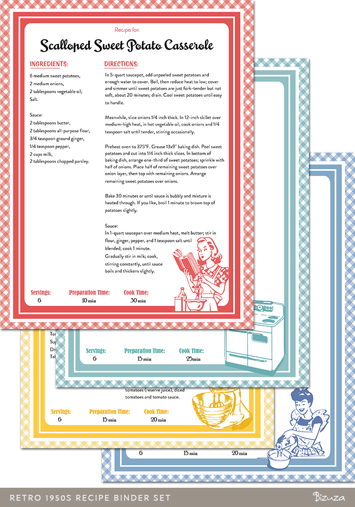 This is an image of Cookbook Covers Printable Free for printout