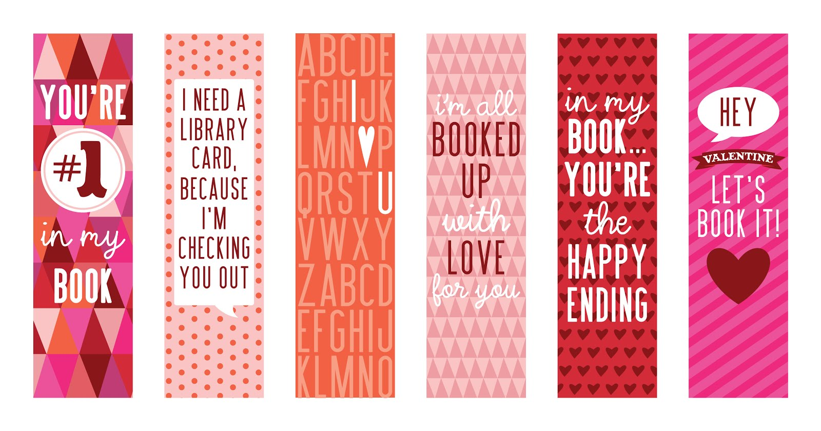 8 Images of Bookmarks And Printable To Make
